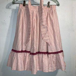 Vintage Square Dancing Skirt